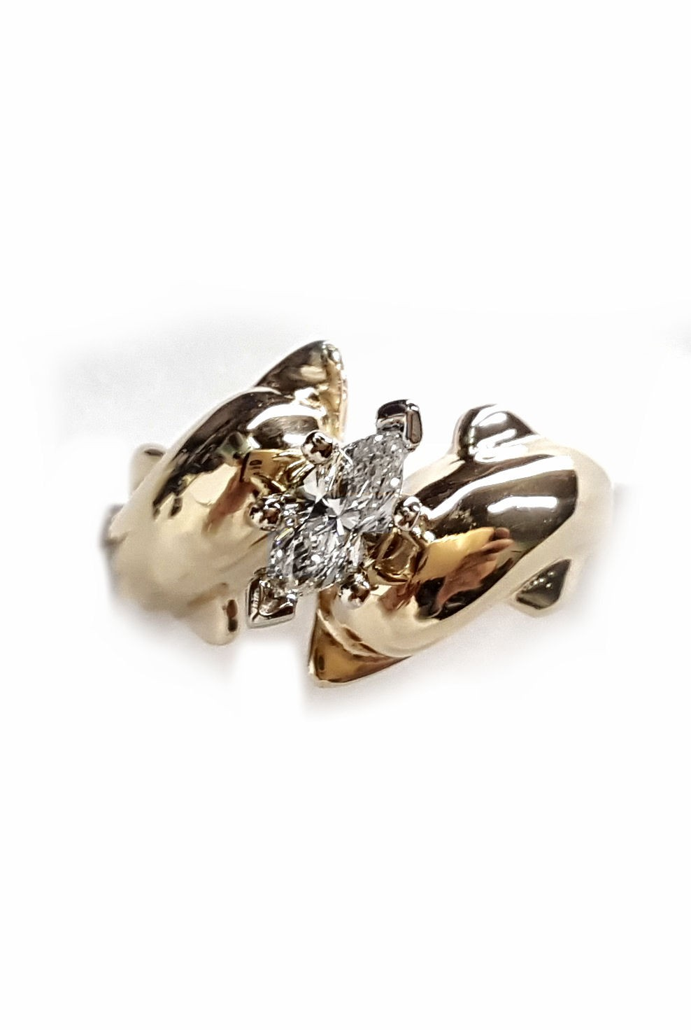 The Dolphin Bridal Jewelry Store Double Dolphin Engagement